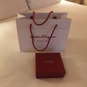 Salvatore Ferragamo storage/gift box & paperbag